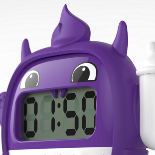 Milk monster device purple close up